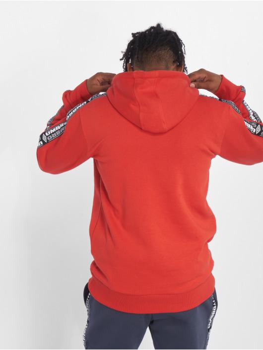 Umbro Bluzy z kapturem Taped OH czerwony