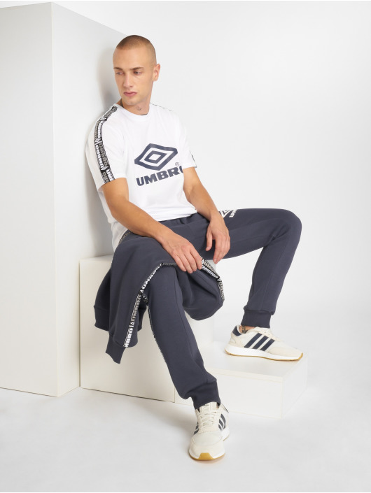 Umbro Camiseta Taped Crew blanco