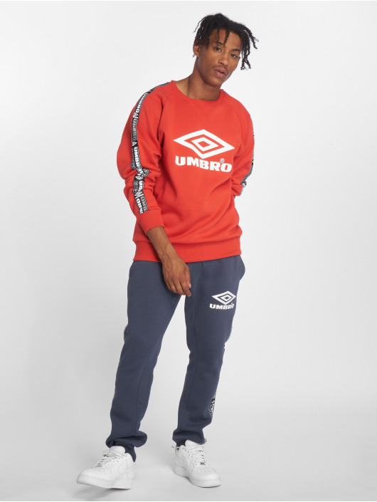 Umbro Gensre Taped Crew red