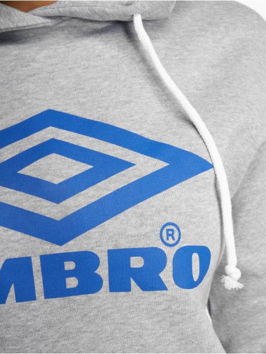Umbro Hoodie Logo grå