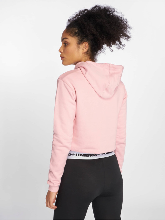 Umbro Hoody Cropped OH rosa