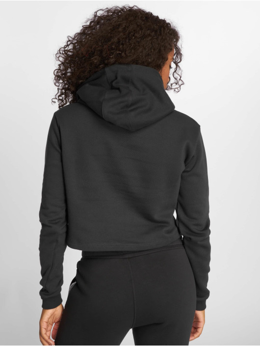 Umbro Hoody Cropped OH schwarz