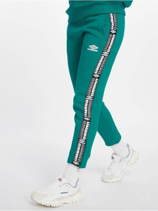 Umbro Joggingbyxor Tape Side Crop grön