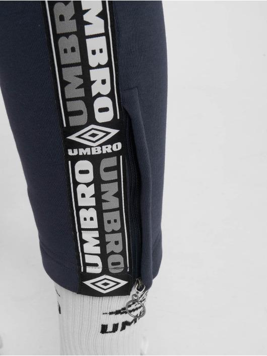 Umbro Pantalone ginnico Tape Side Crop blu