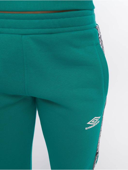 Umbro Pantalone ginnico Tape Side Crop verde