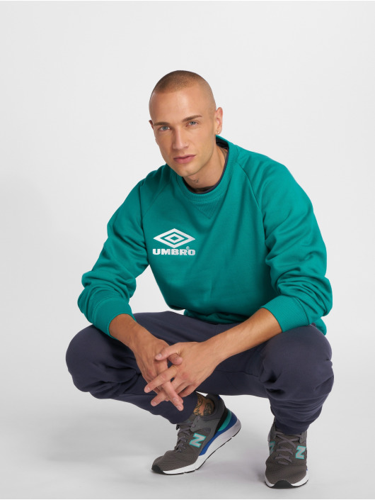 Umbro Swetry Classico Crew zielony