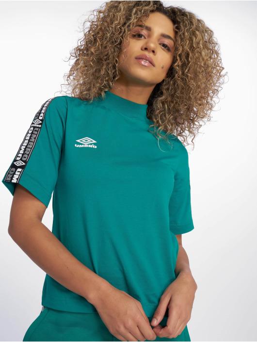 Umbro T-paidat High Neck vihreä