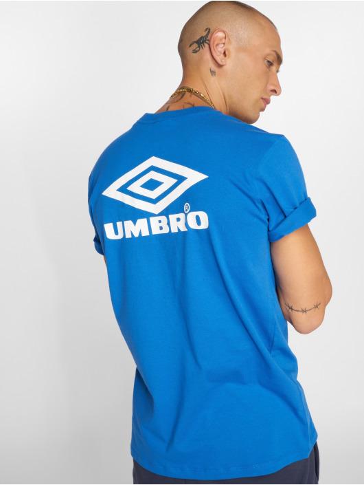 Umbro T-Shirt Classico Crew Logo blau