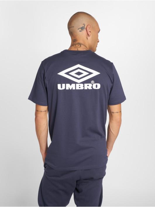 Umbro t-shirt Classico Crew Logo blauw