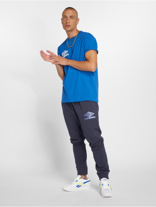 Umbro T-Shirt Classico Crew Logo bleu