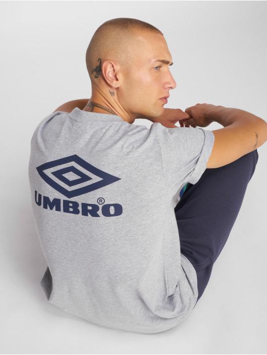 Umbro T-shirt Classico Crew Logo grigio