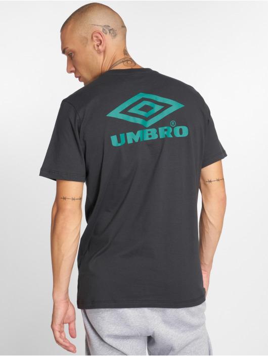 Umbro T-Shirt Classico Crew Logo noir