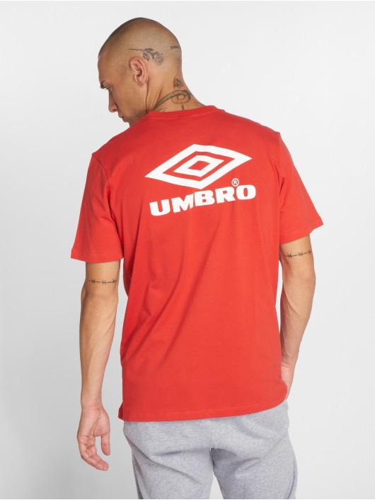 Umbro t-shirt Classico Crew Logo rood