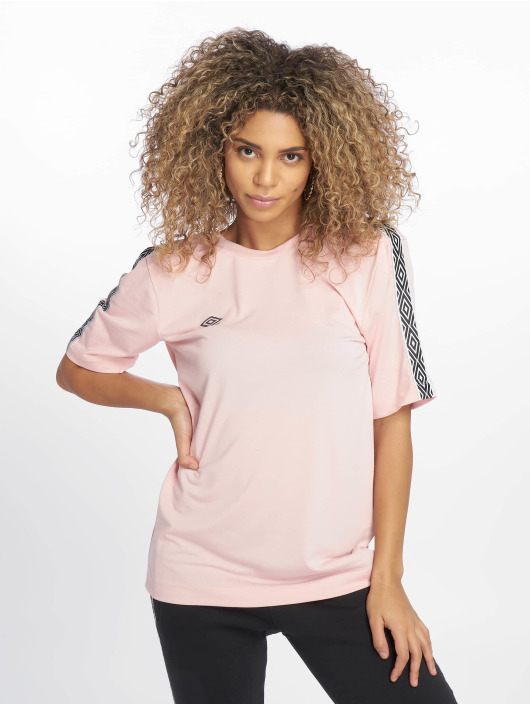 Umbro T-Shirt Scoop Back rose