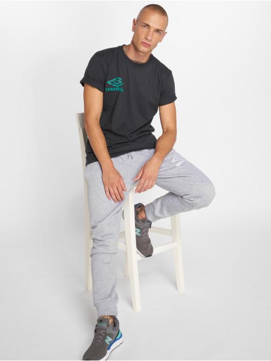 Umbro T-Shirt Classico Crew Logo schwarz