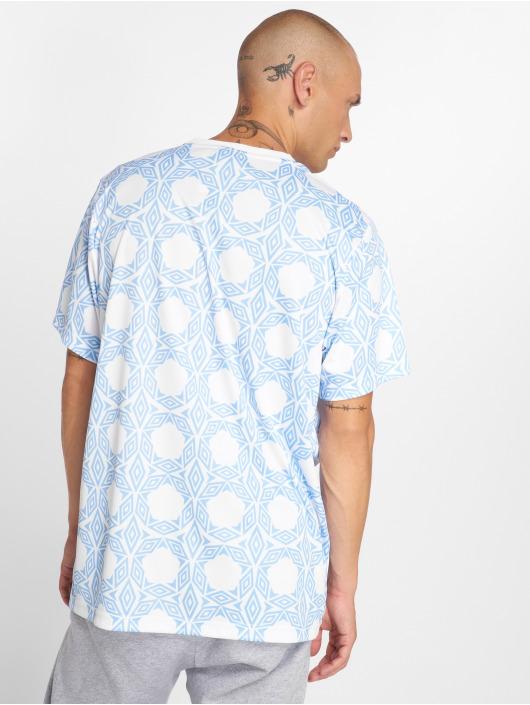 Umbro t-shirt Ceramica AOP wit