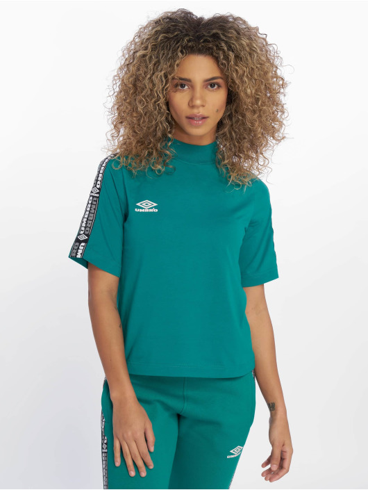 Umbro T-shirts High Neck grøn