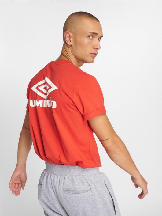 Umbro T-Shirty Classico Crew Logo czerwony