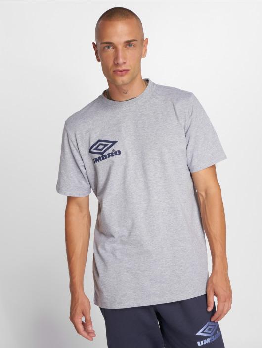 Umbro T-Shirty Classico Crew Logo szary
