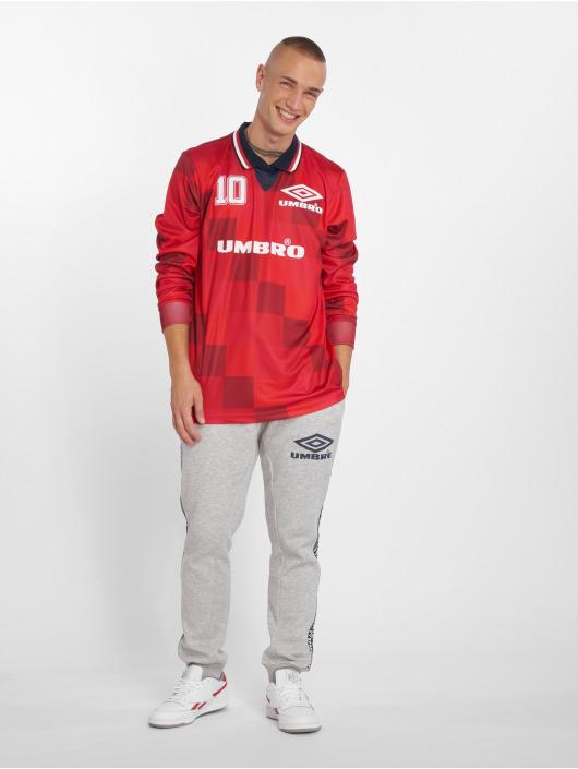 Umbro T-skjorter Monaco LS Football red