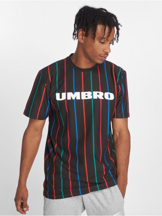Umbro T-skjorter Malone Pin Stripe svart