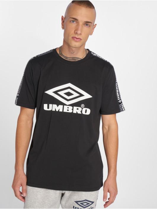 Umbro T-skjorter Taped svart