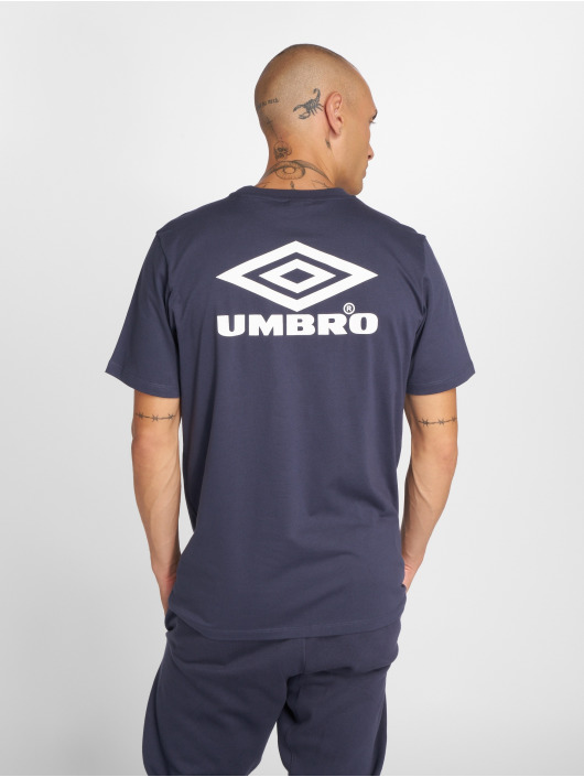 Umbro Tričká Classico Crew Logo modrá