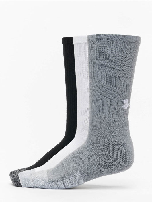 Under Armour Calcetines Heatgear Crew gris