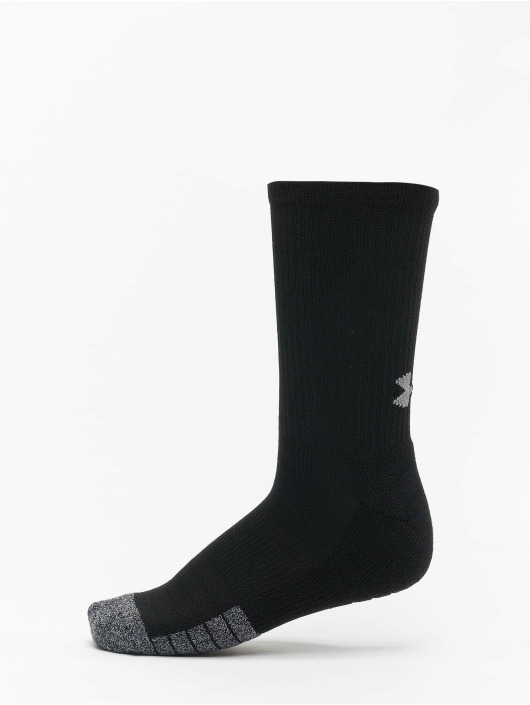 Under Armour Calcetines Heatgear Crew negro