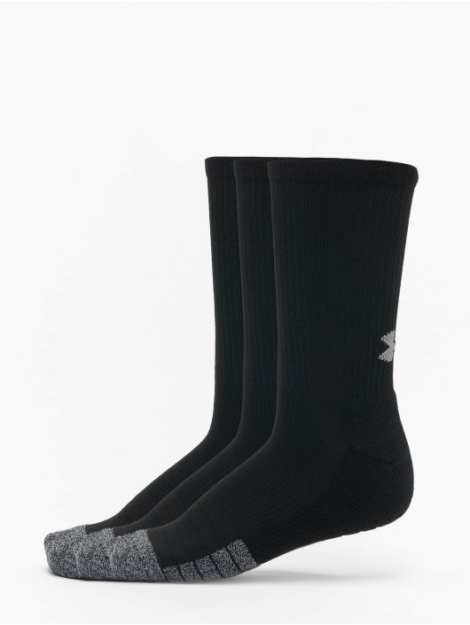 Under Armour Chaussettes Heatgear Crew noir