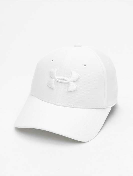 Under Armour Flexfitted Cap UA Blitzing 3.0 bialy