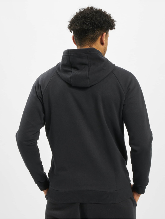 Under Armour Hoodies con zip Rival Fleece nero