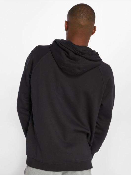Under Armour Hoody Rival Fleece Logo schwarz