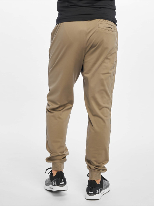 Under Armour Jogger Pants Sportstyle Tricot hnedá