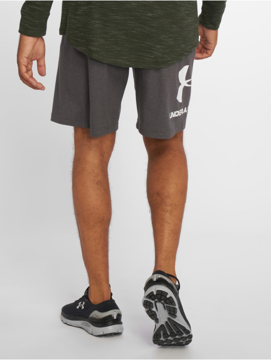 Under Armour Short Cotton Graphic gray