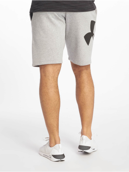 Under Armour Short Rival Fleece Logo Sweatshort grey