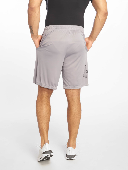 Under Armour Short Ua Tech Graphic silver colored