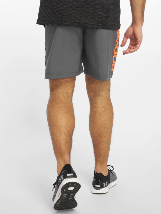 Under Armour Shorts Woven Graphic Wordmark grå