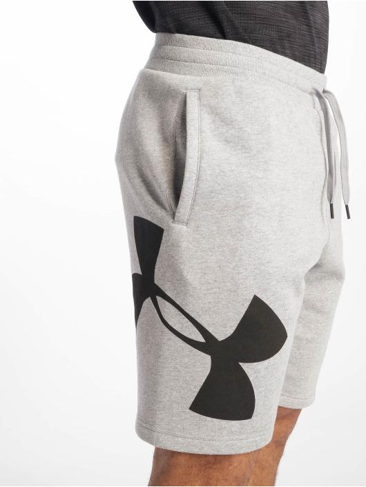 Under Armour Shorts Rival Fleece Logo Sweatshort grau