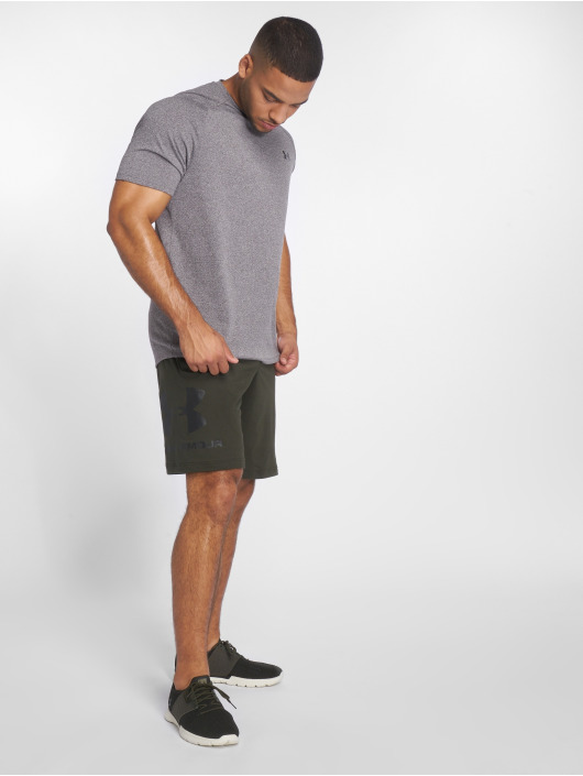 Under Armour Shorts Sportstyle Cotton Graphic grün