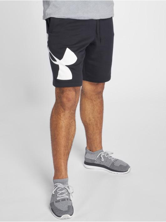 Under Armour Shorts Rival Fleece Logo schwarz