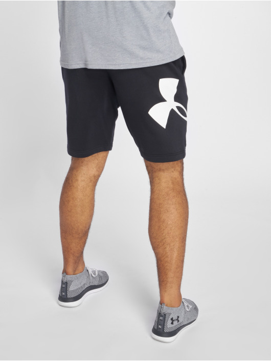 Under Armour Shorts Rival Fleece Logo schwarz