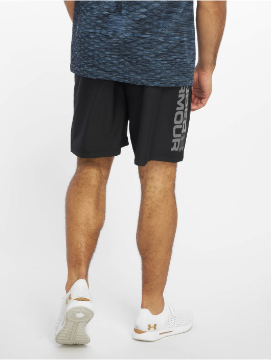 Under Armour Shorts Woven Graphic Wordmark schwarz