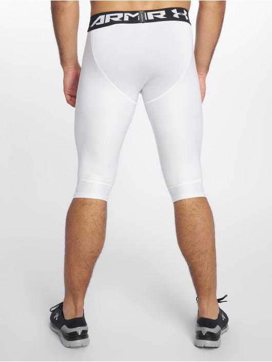 Under Armour Shorts Ua Baseline Knee Tight weiß