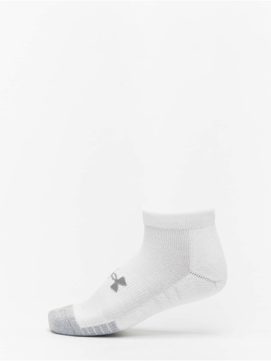 Under Armour Sokker Heatgear Locut hvit