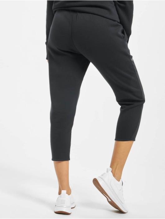 Under Armour Spodnie do joggingu Rival Fleece Sportstyle Graphic czarny