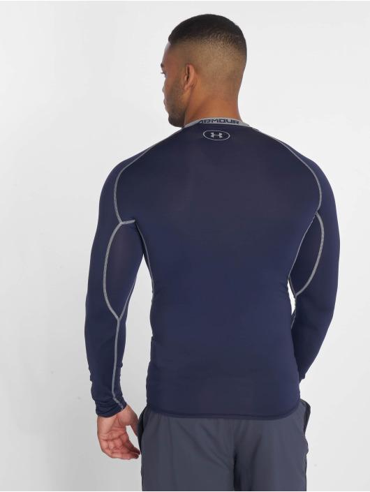 Under Armour Sport Shirts Men's Ua Heatgear Armour Long Sleeve Compression blå