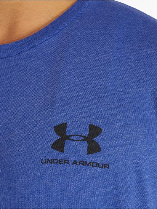 Under Armour Sport Shirts Sportstyle Left Chest blue