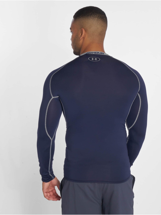 Under Armour Sport Shirts Men's Ua Heatgear Armour Long Sleeve Compression blue