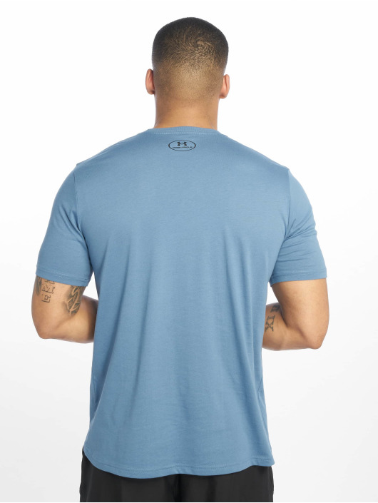 Under Armour Sport Shirts Sportstyle Left Chest blue